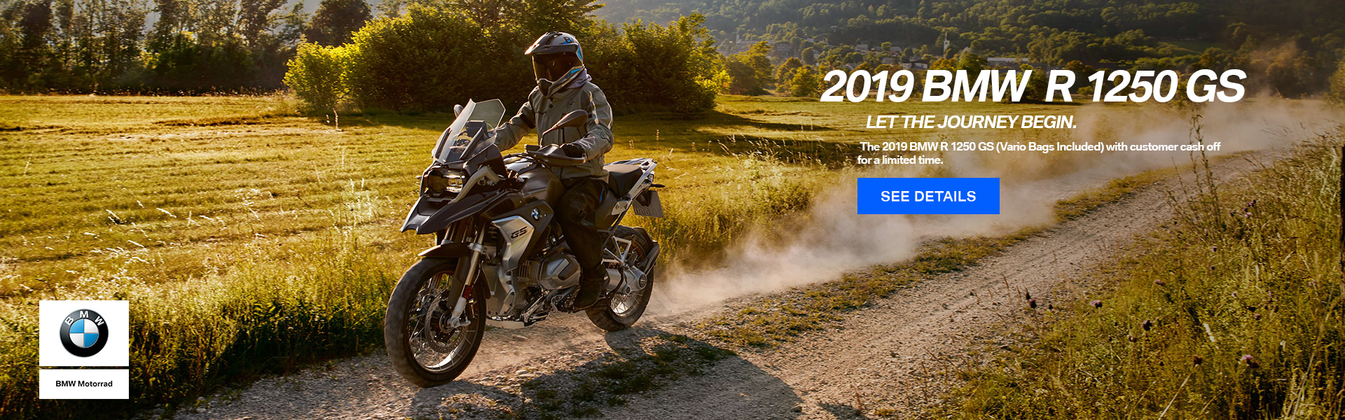 2019 BMW R 1250 GS Vario Bags Included