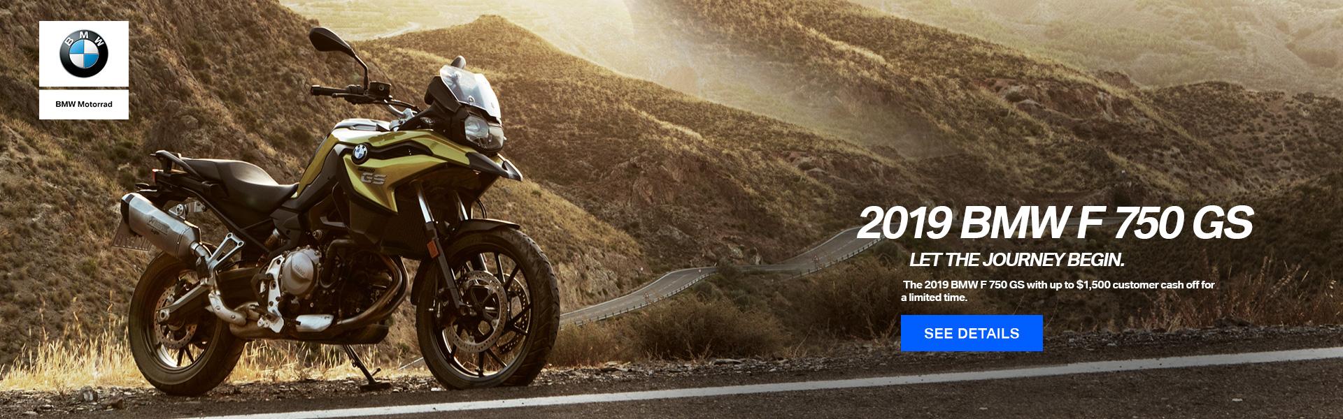 2019 BMW F 750 GS