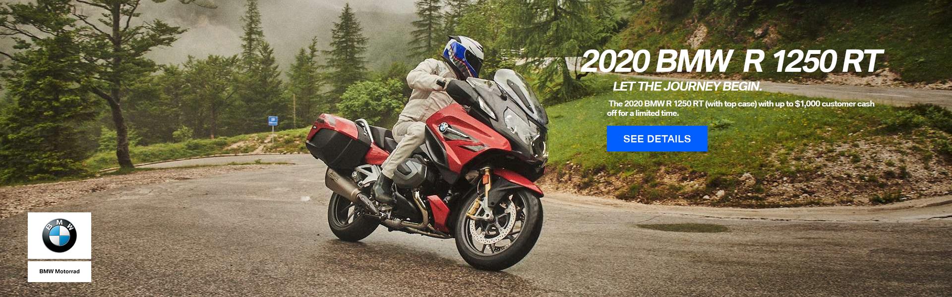 2020 BMW R 1250 RT + Top Case