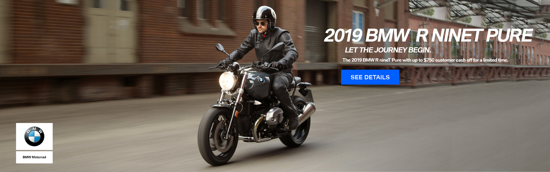 2019 BMW RnineT Pure