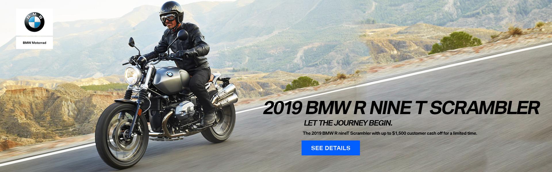 2019 BMW RnineT Scrambler
